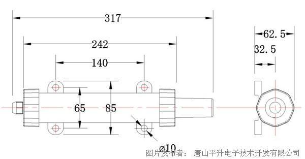 抄表接口:3路PI、1路AI(0-5V)、1路RS232/RS485串口(三种接口任选其一)。 无线载波频率:433MHZ。 通信误码率:10-6。 对外供电:3.3V、5V DC。 存储容量:8K。 A/D转换精度:12位。 串口波特率:1200、2400、4800、9600、19200(Bit/S)可选。 通信距离:空旷环境下传输距离>2.