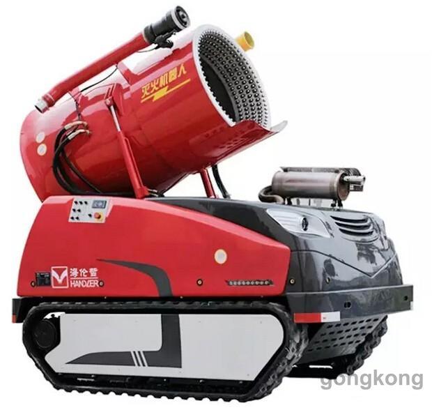 人 来看看中国消防机器人