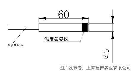 搜博sonbest slst3 6 pt1000温度传感器图片