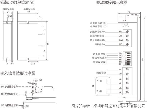 少妇扺n+ykd_研控科技 ykd2204m 低压dsp数字式步进驱动器