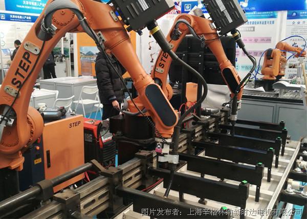 机器人铝模板焊接工作站
