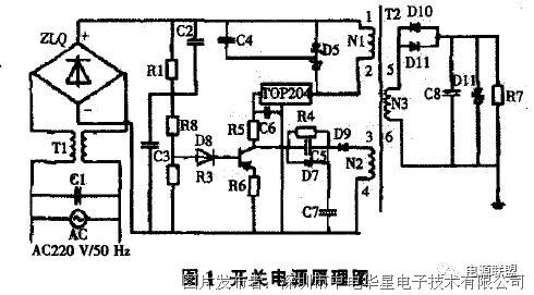最后通过低滤波电路的的整流和滤波就可获得与装置