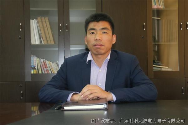 """5月4日,明阳电气集团总经理孙文艺被评为""""五四有为青年""""."""