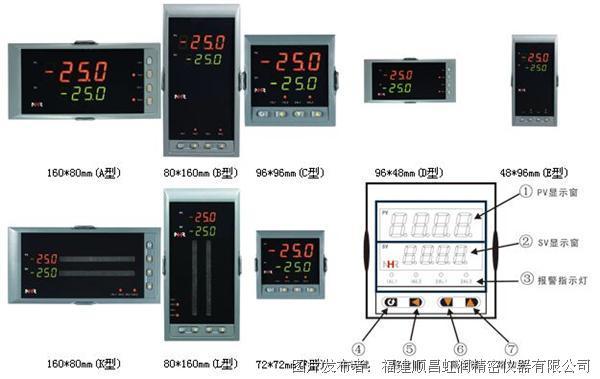 虹润推出工业电炉温控器