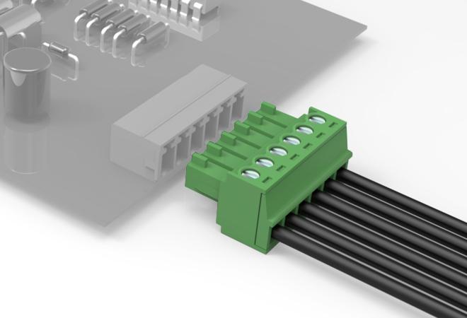 上海联捷 LC1-3.5/3.81 插拔式接线端子