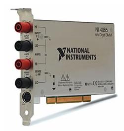 NI PCI-4065 6?位数字万用表(DMM)