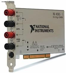 NI  PCI-4065  6?位数字万用表