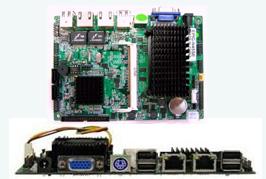 恒研 EPIC-N270CV2NA 单板电脑