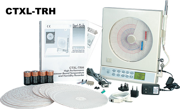 Omega  CTXL系列便携式通用圆形图表记录仪