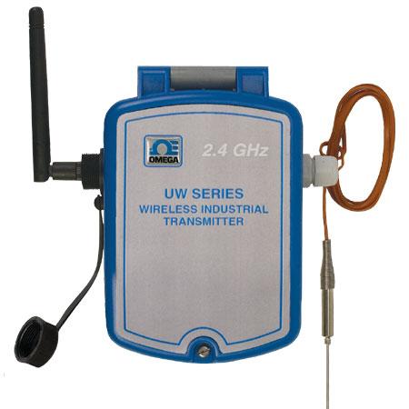 Omega  耐候性温度到无线变送器---适用于热电偶