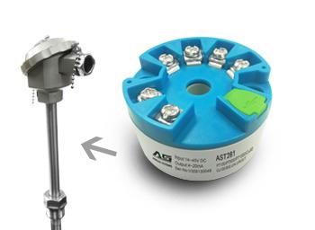 艾络格电子 AST281温度变送器
