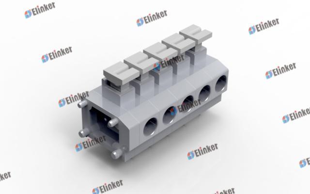 上海联捷 LS235-7.5弹簧式接线端子