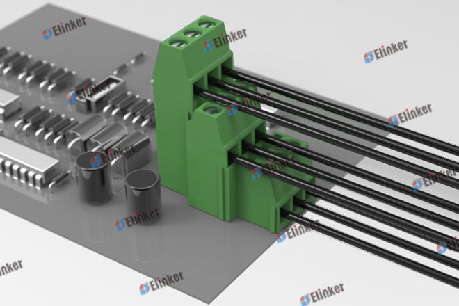 上海联捷 LG500BHZL-5.0/5.08直焊式接线端子