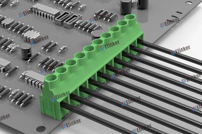 上海联捷 LG762-7.62直焊式接线端子
