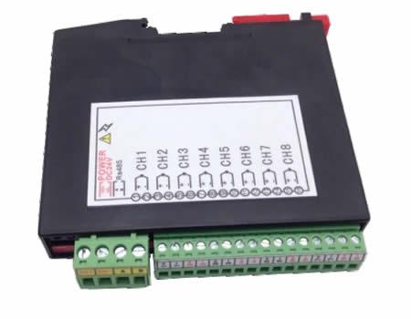 厦门科昊 KH7018超薄多通道模拟量输入采集模块