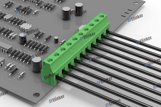 上海联捷 LG129V-5.0/5.08直焊式接线端子