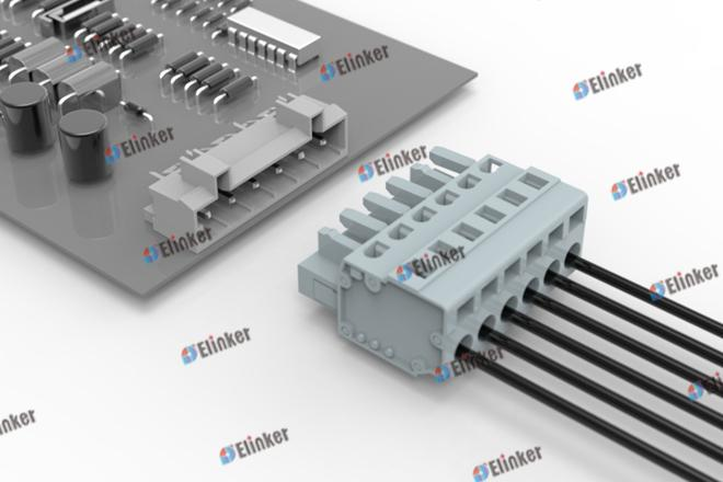 上海联捷 LSC1B-7.5弹簧插拔式接线端子