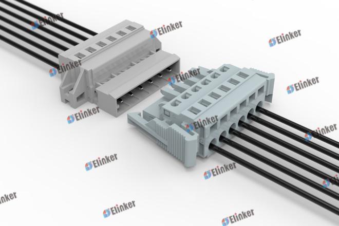 上海联捷 LSC1J-5.0弹簧插拔式接线端子
