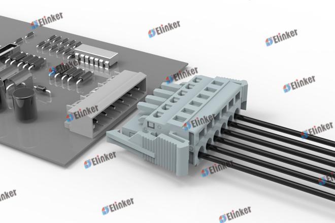 上海联捷 LSC1J-5.08弹簧插拔式接线端子