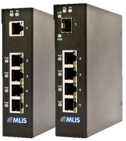 5口 PoE以太网交换机MLiS MLB-E4103-5-P/E4104-5-P-F