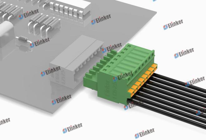 上海联捷 LC6-2.5插拔式接线端子