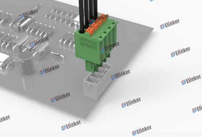 上海联捷 lc6-3.5/3.81插拔式接线端子