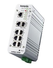 科洛理思 JetNet4508i网管型工业交换机