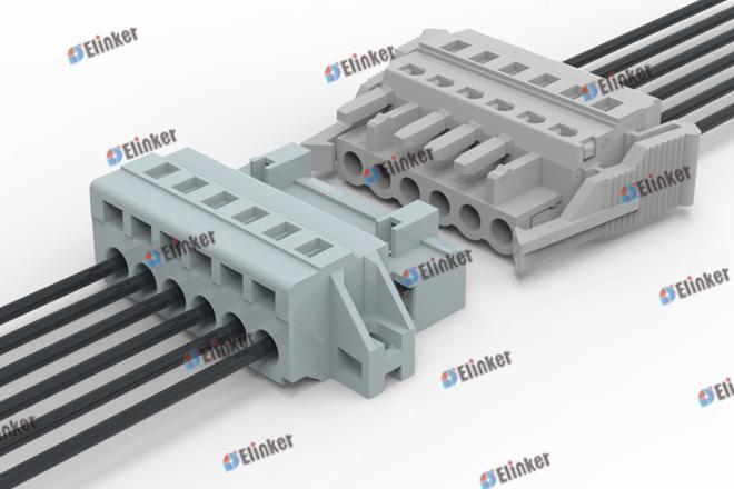 上海联捷 LSC10BM-7.5/7.62弹簧插拔式接线端子