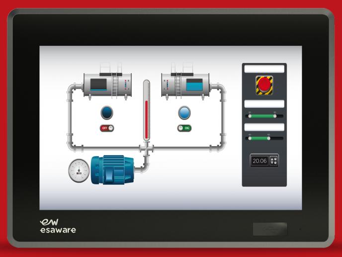 意萨EW300 工业显示器