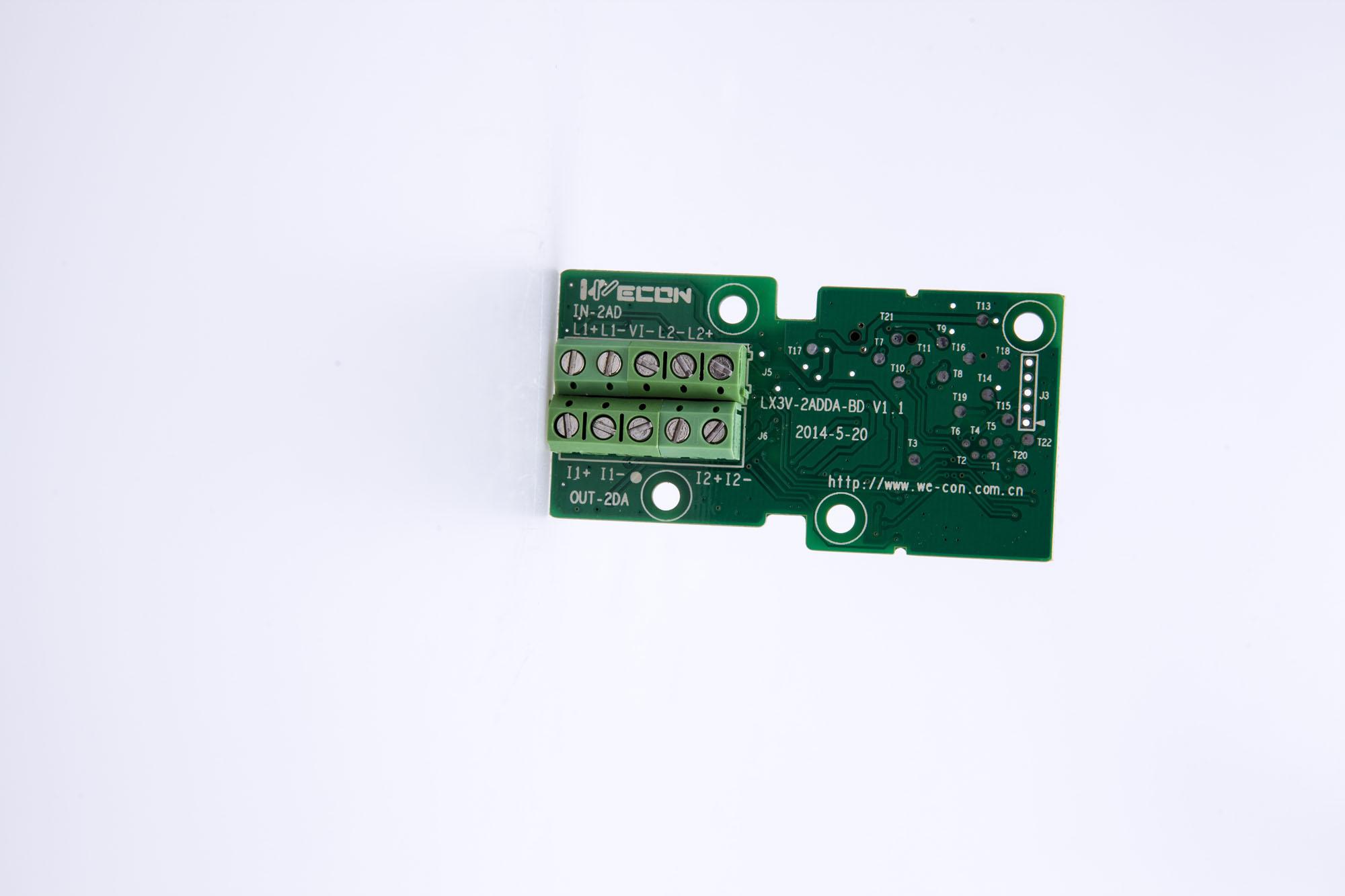 维控 LX3V-2PT2DA-BD BD板