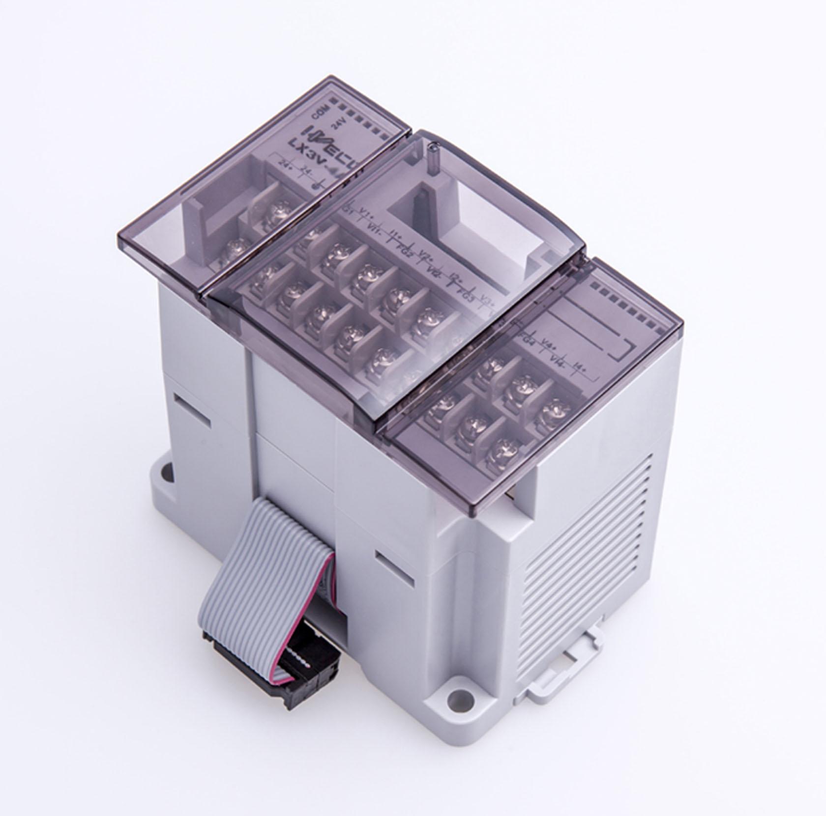维控PLC 16路继电器输出IO数字量模块