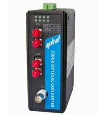 易控达 controlnet总线转光纤中继器/光电转换器