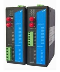易控达4-20MA电流量转光纤中继器