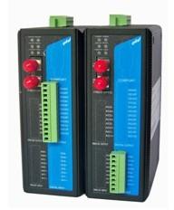 易控达数字量/开关量转光纤中继器/光端机/光电转换器