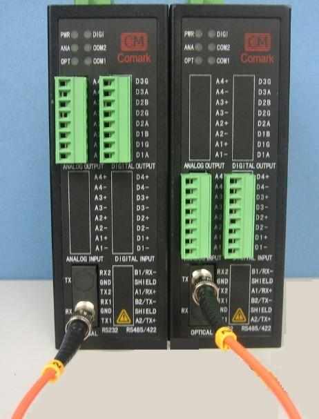 深圳讯记4~20mA电流模拟量转光纤光电转换器