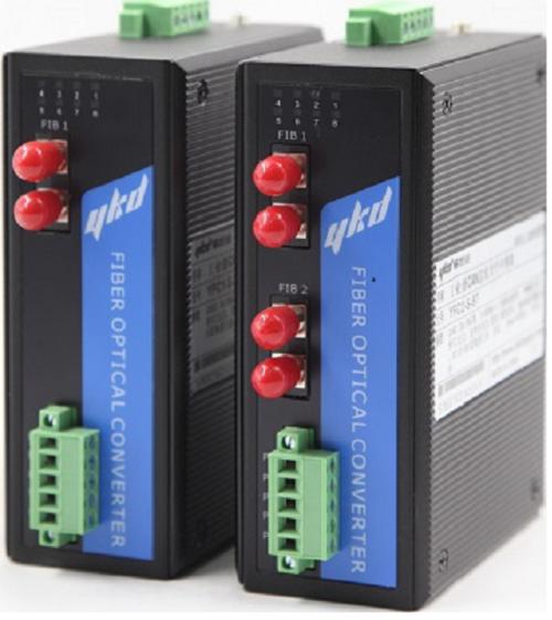 易控达CAN总线转光纤中继器/光端机/光电转换器