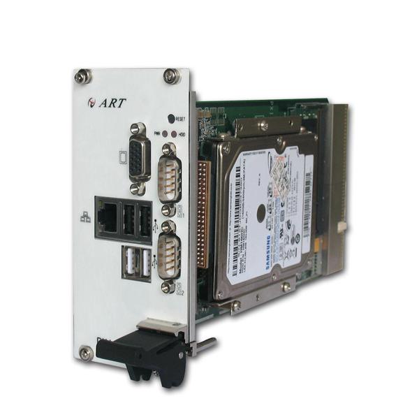 ART-阿尔泰科技-PXI7655-1插槽 SO-DIMMDDR2 1600MHz处理器