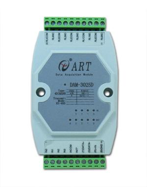 ART-阿尔泰科技DAM-3025D-4路隔离数字量模块