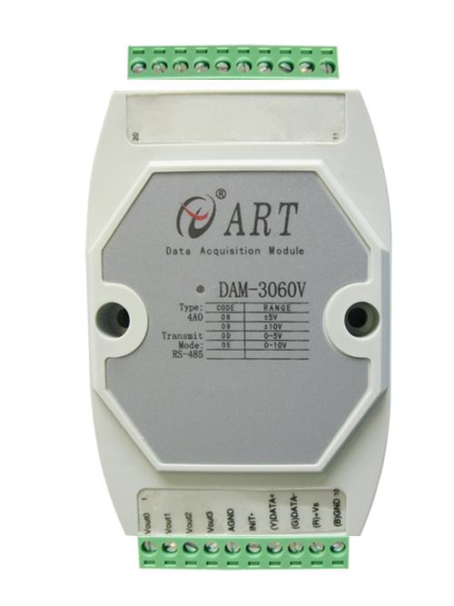 ART-阿尔泰科技DAM-3060V-12位4路模拟量输出模块