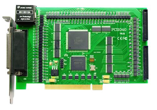 ART-阿尔泰科技PCI1040-PCI总线独立8轴驱动运动控制卡