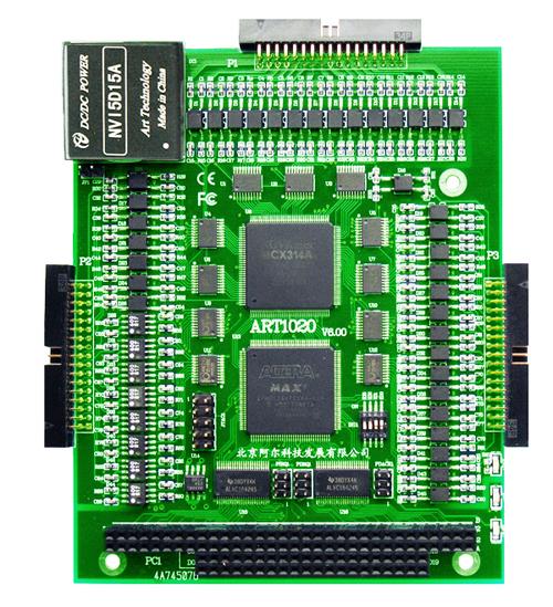 ART-阿尔泰科技ART1020-PC104总线独立4轴驱动运动控制卡