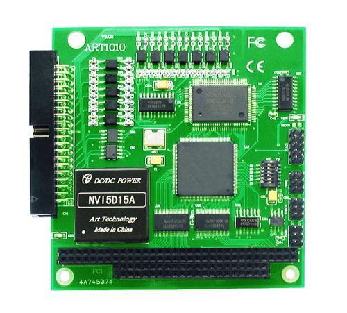 ART-阿尔泰科技ART1010-PC104总线独立2轴驱动运动控制卡