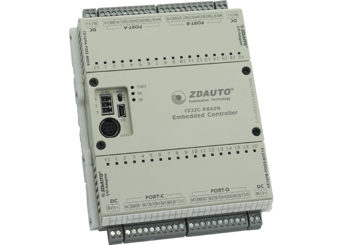 智達CE32-RX62N可編程控制器類主模塊
