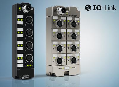 倍福 IP 67 I/O 端子盒:产品系列通过 IO-Link 设备扩展