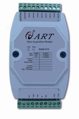 ART-阿尔泰科DAM-3713-12位 4路模拟量输出模块