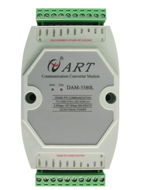 阿尔泰DAM-3380L三菱LINK从站协议与主站协议转换模块