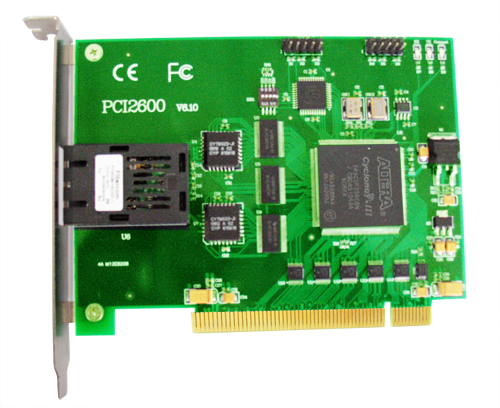 ART-阿尔泰科技PCI2600-200Mbps光纤通讯卡