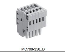 宇联MC700-350.D 弹簧式接线端子 端子台