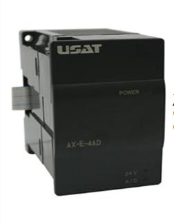 优萨 可编程控制器 AX-E系列扩展模块 AX-E-4AD/DA