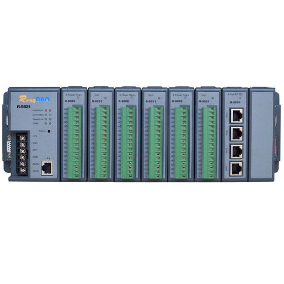 集智达智能RemoDAQ-9421/98214或8槽以太网可编程控制器